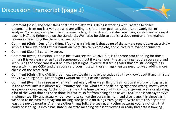 Discussion Transcript (page 3)