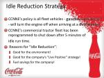 idle reduction strategy