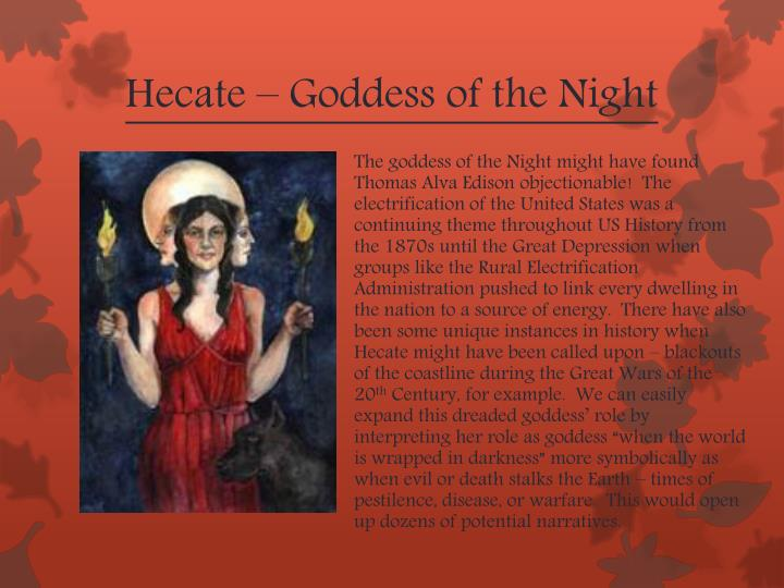 Hecate – Goddess of the Night