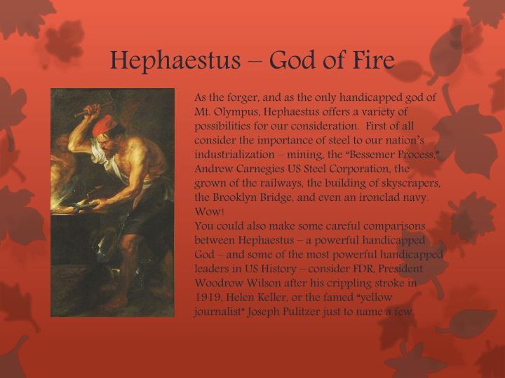 Hephaestus – God of Fire