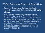 1954 brown vs board of education