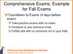 comprehensive exams example for fall exams5
