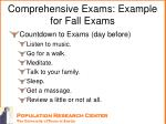 comprehensive exams example for fall exams6