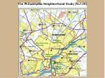 the philadelphia neighborhood study n 120