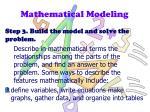 mathematical modeling2