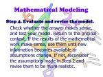 mathematical modeling3