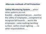 alternate methods of fall protection1