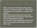 the kansas city massacre