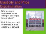 elasticity and price discrimination