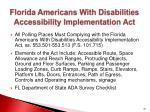 florida americans with disabilities accessibility implementation act