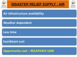 disaster relief supply air