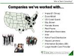companies we ve worked with