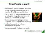 think psyche logically