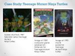 case study teenage mutant ninja turtles