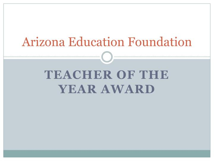 arizona education foundation n.
