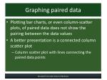 graphing paired data
