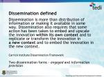 dissemination defined
