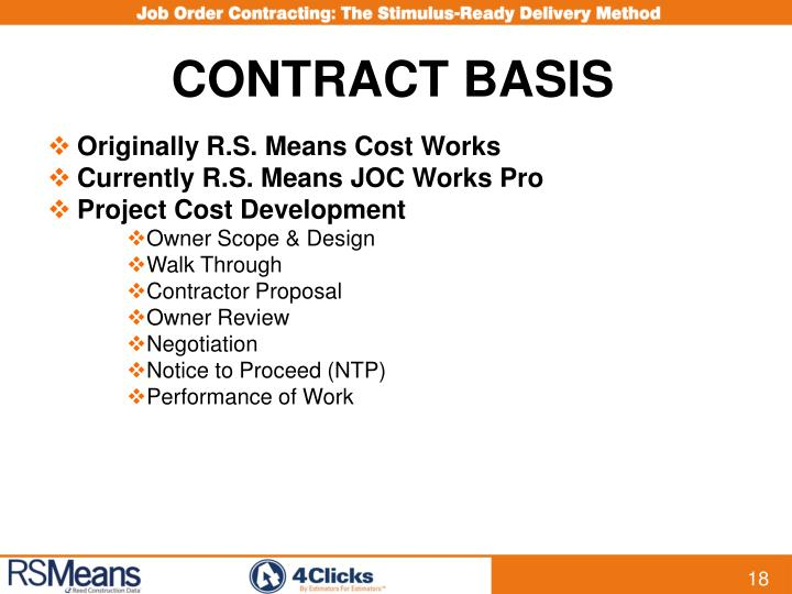 CONTRACT BASIS