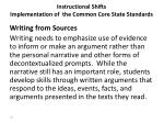 instructional shifts implementation of the common core state standards3