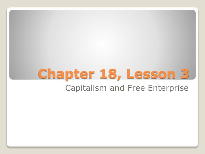 chapter 18 lesson 3 n.
