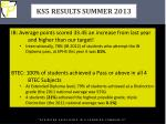 ks5 results summer 2013
