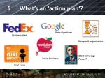 what s an action plan
