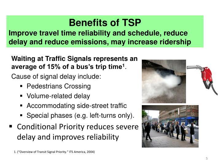 Benefits of TSP