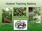 outdoor teaching stations