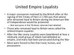 united empire loyalists