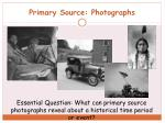 primary source photographs
