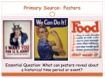 primary source posters