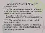 america s poorest citizens