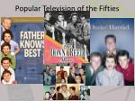 popular television of the fifties