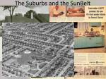 the suburbs and the sunbelt