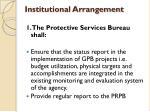 institutional arrangement1