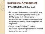 institutional arrangement3