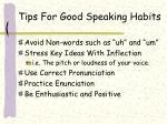 tips for good speaking habits1