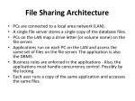 file sharing architecture
