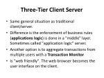 three tier client server