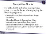 competitive grants
