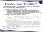 homeland security grant hsgp