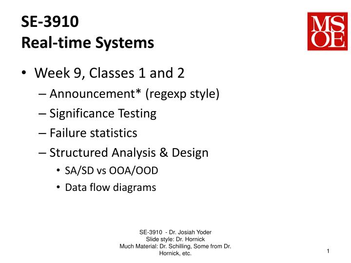se 3910 real time systems n.