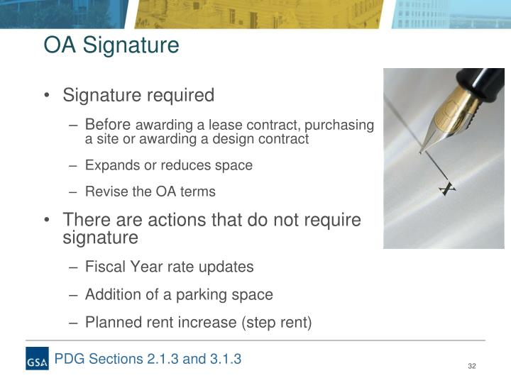 OA Signature