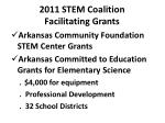 2011 stem coalition facilitating grants