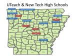 uteach new tech high schools