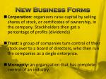 new business forms
