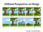 different perspectives on design