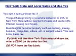 new york state and local sales and use tax