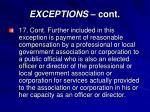 exceptions cont14