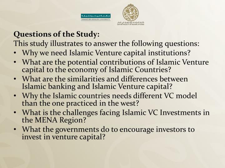 Questions of the Study: